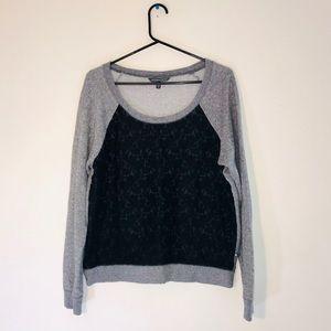 Victoria's Secret Lace Front Sweatshirt